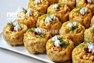 Patates Çanağında Yoğurtlu Havuç Tarifi