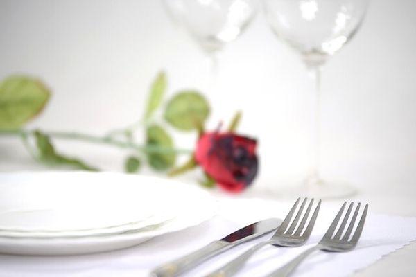 sevgiliye romantik masa