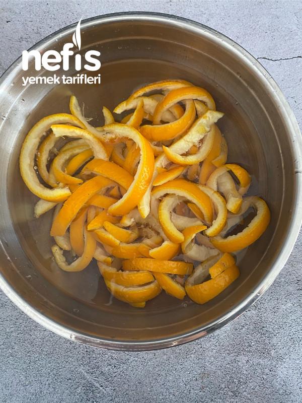 Çikolatalı Portakal Çubukları