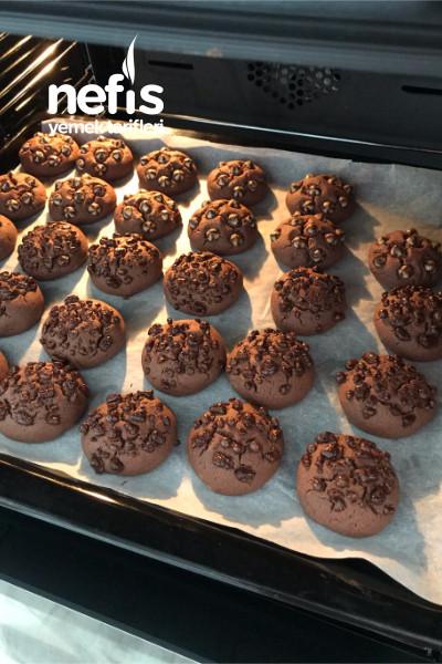 Damla Çikolatalı Kurabiye(kakaolu)