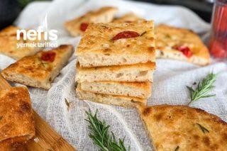 İtalyadan Bir Ekmek Focaccia Tarifi