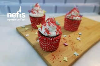 Kadife Cupcake | Red Velvet (Videolu) Tarifi