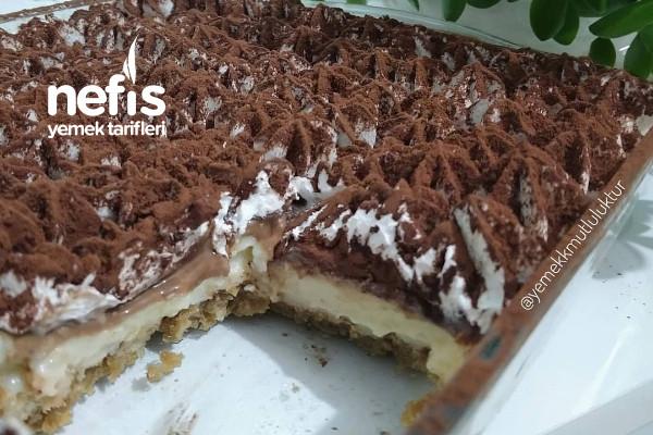 Kahveli Çikolatalı Pratik Borcam Tatlısı Tarifi