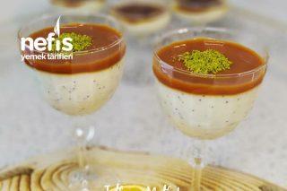 Karamelli Haşhaşlı Nefis Çilli Muhallebi Tarifi