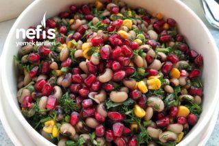 Narlı Kuru Börülce Salatası Tarifi