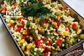 Renkli Kuskus Salatası Tarifi