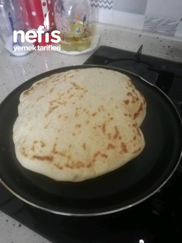 Tavada Mayalı Pamuk Ekmek