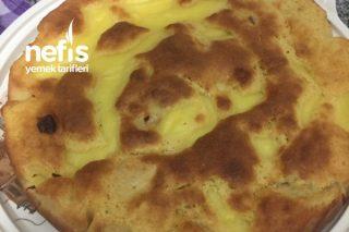 Vanilya Kremalı Elma Keki Tarifi