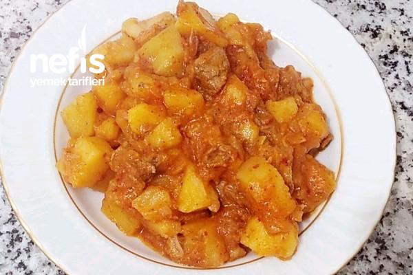 Enfes Etli Patates Yemeği