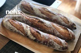 Fransız Baget Ekmek (Roggo Rustico Baugettes) Tarifi