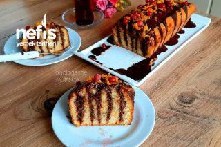 Küçük Dokunuş Muhteşem Sunum Portakallı Ve Çikolata Kek (Videolu) Tarifi