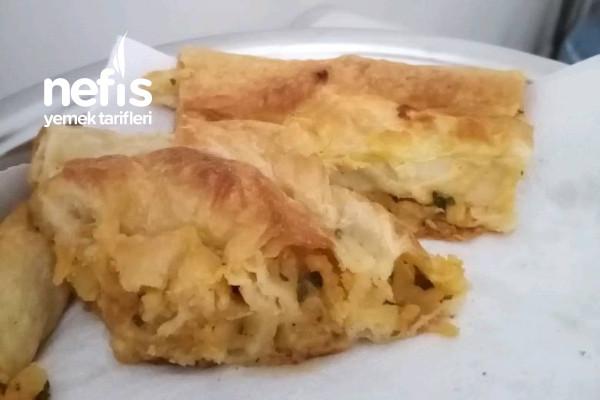Patatesli Dolama Börek Tarifi