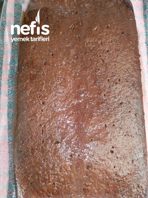 Borcam'da Çikolatalı Yaş Pasta