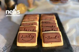 Çikolata Kaplı Enfes Bisküviler Tarifi
