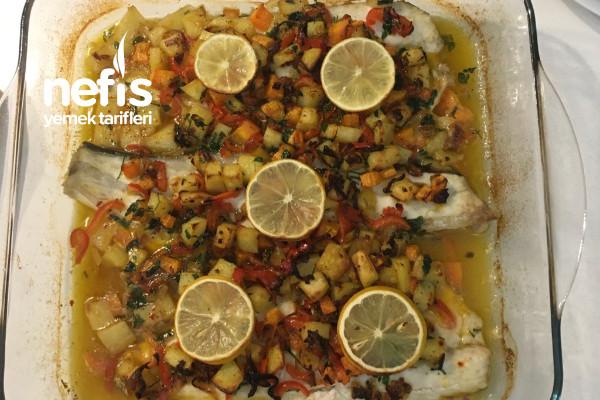 Garnitürlü Levrek Fileto (Nefis Lezzet) Tarifi