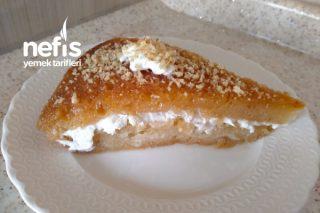 Karamelize Şeker İle Tam Ölçülü Ekmek Kadayıfı (Videolu) Tarifi