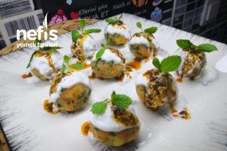 Misafir Masalarınızı Süsleyecek Havuçlu Patates Topları (Videolu) Tarifi