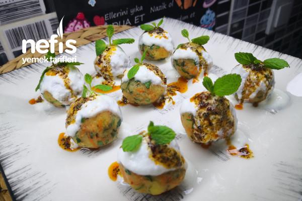 Misafir Masalarınızı Süsleyecek Havuçlu Patates Topları (Videolu)