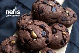 Muhteşem Damla Çikolatalı Kakaolu Kurabiye Tarifi