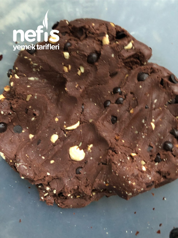Muhteşem Damla Çikolatalı Kakaolu Kurabiye