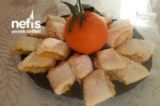Portakallı Kurabiye (Kış Bitmeden Bu Lezzeti Kaçırmayın) Tarifi