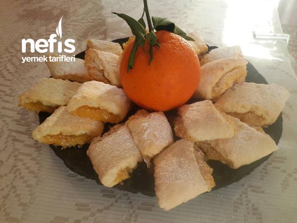 Portakallı Kurabiye (Kış Bitmeden Bu Lezzeti Kaçırmayın)