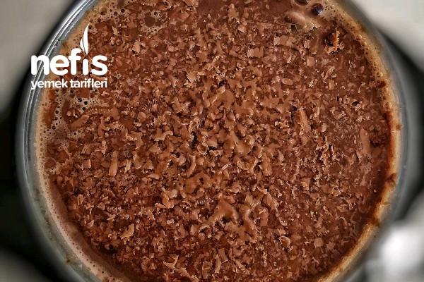 Tek Kişilik Sıcak Çikolata Tarifi (Videolu)