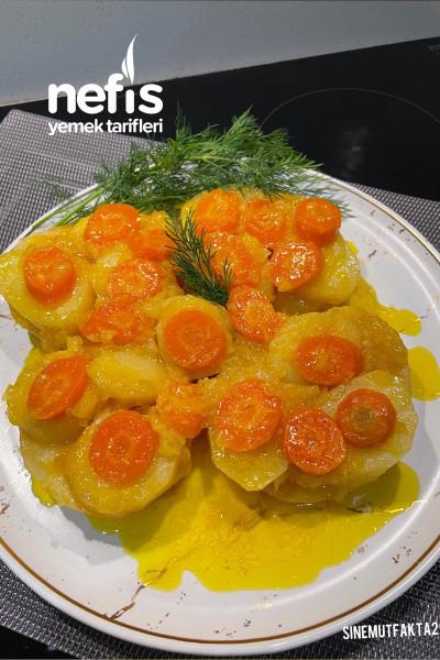Zeytinyağlı Portakallı Kereviz