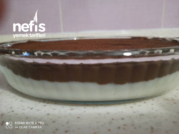 10 Dakikada Sütlü Çikolatalı Tatlı