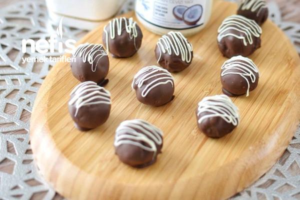 Cocostar (Çikolatalı Hindistan Cevizi Topları) Tarifi