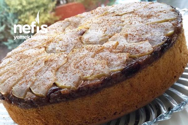 Elma Dilimli Pamuk Kek