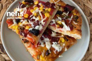 Enfes Anne Pizzası Tarifi
