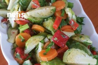 Brüksel Lahana Salatası Tarifi