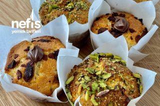 Çikolata Ve Marmelat Dolgulu Muffin (Videolu) Tarifi
