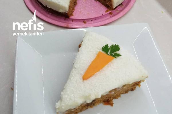 Havuçlu Tarçınlı Kremalı Kek Tarifi