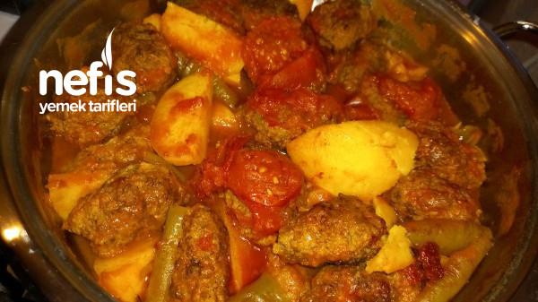 Köfte Patates Yemegi (Tencerede)