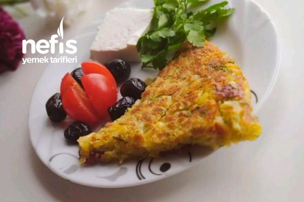 Patatesli Sucuklu Börek (Kahvaltılık) Tarifi