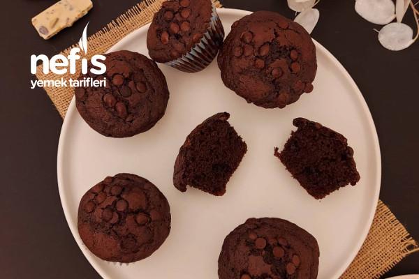 Çift Çikolatalı Muffin Tarifi