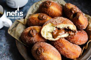 Çikolata Dolgulu Donut Tarifi
