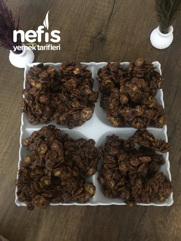 Çikolatalı Bademli İkramlıklar
