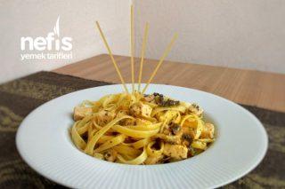 Fettuccine Alfredo (Videolu) Tarifi
