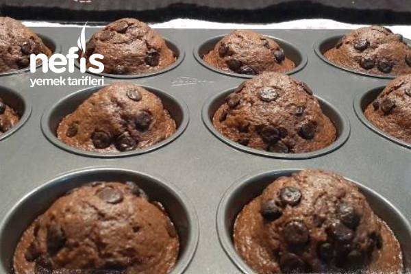 Kakaolu Portakallı Muffin (Videolu) Tarifi