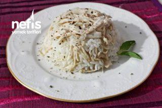 Tavuklu, Sade Pirinç Pilavı Tarifi