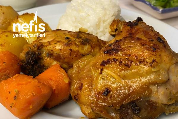 Çift Kapaklı Tavada Çok Basit Ve Aşırı Lezzetli Tavuk