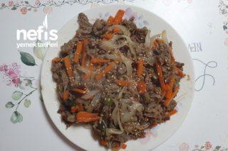 Dana Bulgogi Yemeği (Kore Mutfağı)(Videolu) Tarifi