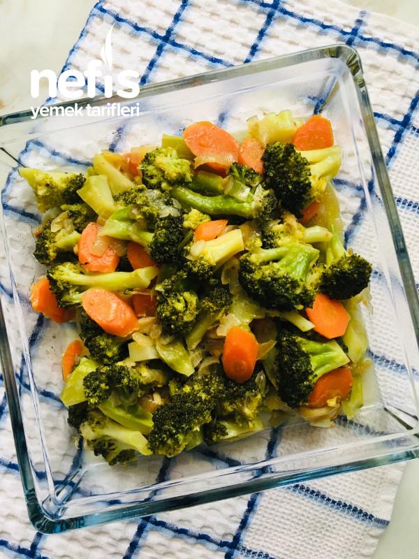 """Nefis Bir Lezzet """"zeytinyağlı Brokoli"""""""