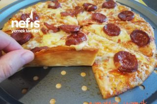 Tortilladan 15 Dk'da Pizza Tarifi