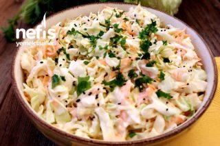 Coleslaw Salatası (Lahana Salatası) Tarifi