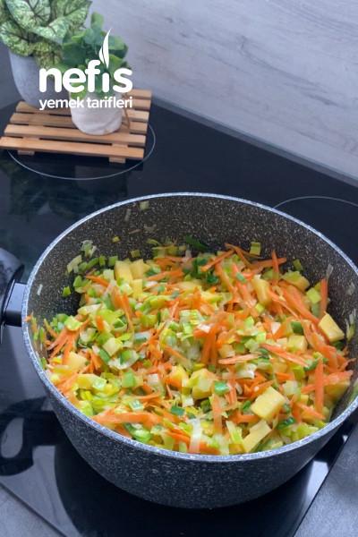 Sebzeli Pırsa Çorbası