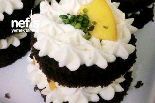 Kakaolu Meyveli Minik Pastalar Tarifi